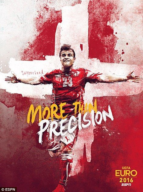 More Than Precision Xherdan Shaqiri Wallpaper Uefa Euro 2016 Xs10 Switzerland Uefaeuro2016 Xs Xherdan Sport Poster Football Poster Uefa Euro 2016