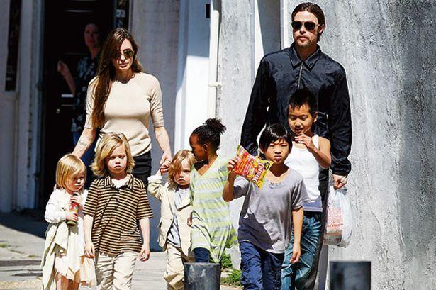 Obdanishte Angelina Jolie Brad Pitt Filmstars