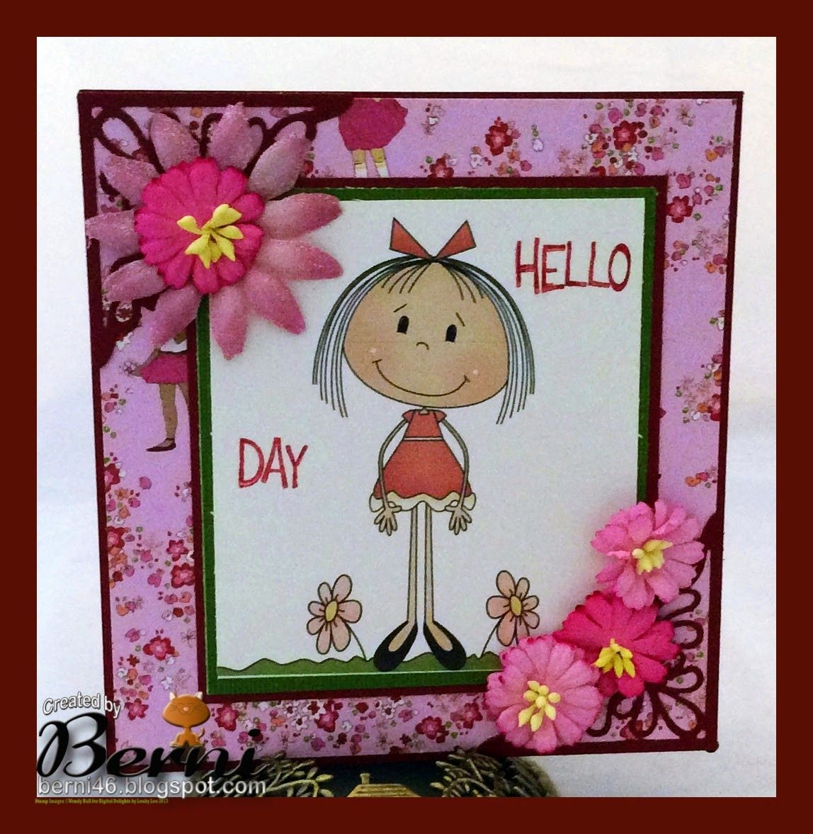 Send A Smile 4 Kids Challenge Blog: TEAM S.A.S. Card by Berni