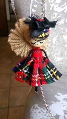 fatto a mano dipinto a mano Dimensioni: 9 cm filo, tessuto, legno, perline, per rendere questa bambola Disegno o modello, registrato: disegno industriale solo uno