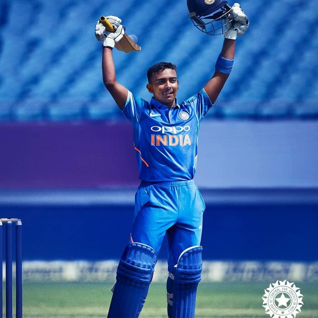 Prithvi Shaw ÇÅ🏏 Cricket teams, Cricket news, Cricket