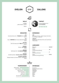 great resume designs