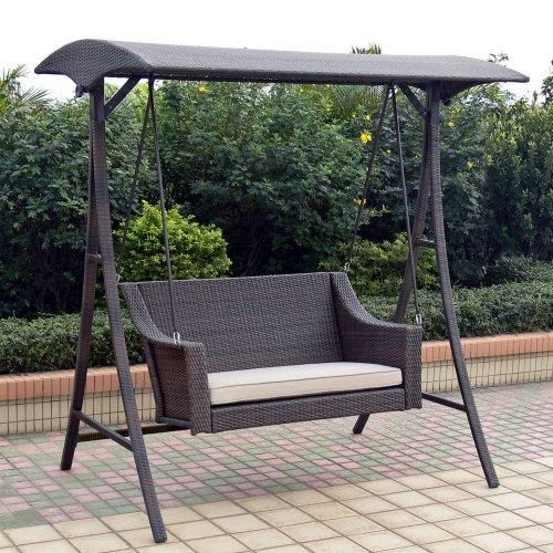 Swings | Outdoor Patio Swings 2047 Outdoor Patio Home Rolston Wicker Porch .