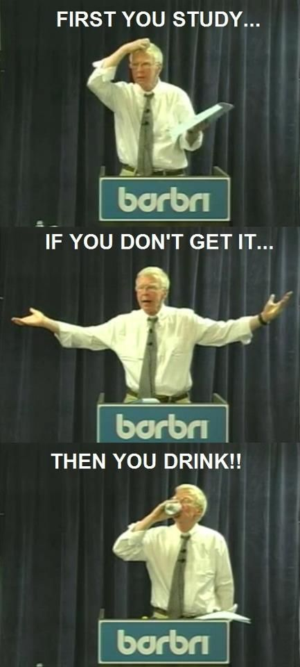 Have you watched this guy in the Barbri vids? He's hilarious