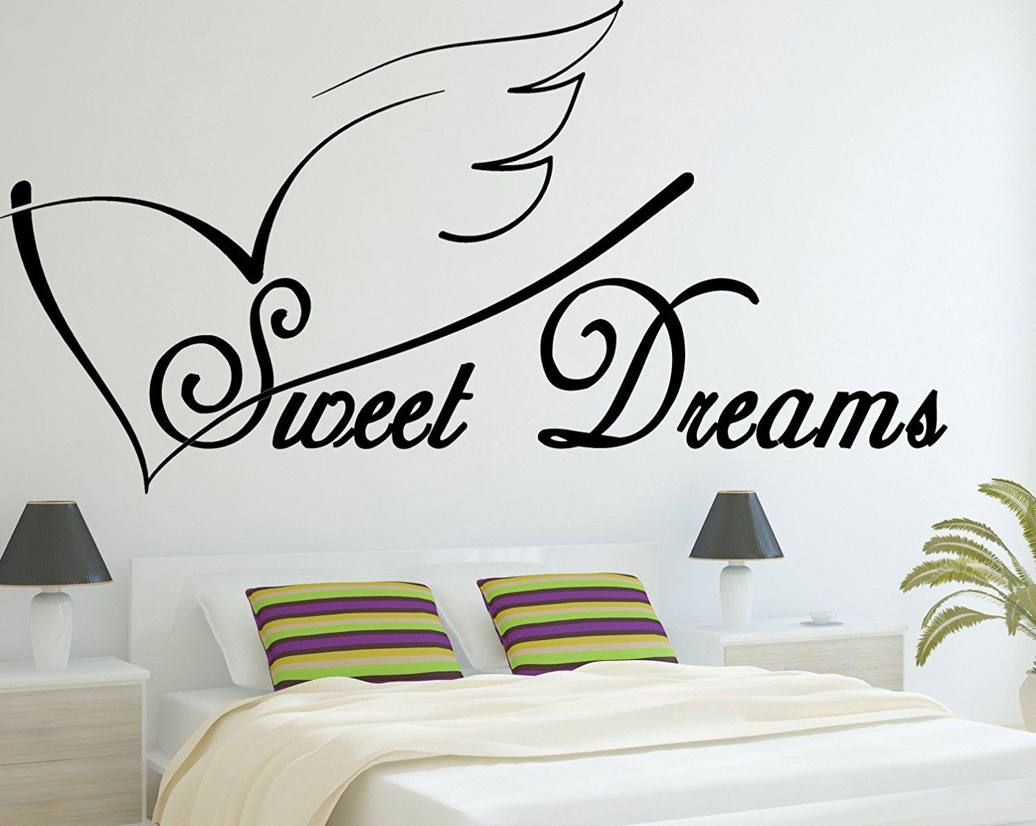 Good Sweet Dreams   Vinyl Wall Art Decal   Wall Saying   Bedroom   Sticker    Vinyl