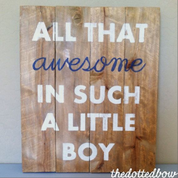 All that Awesome in Such a Little Boy/Girl Nursery by thedottedbow