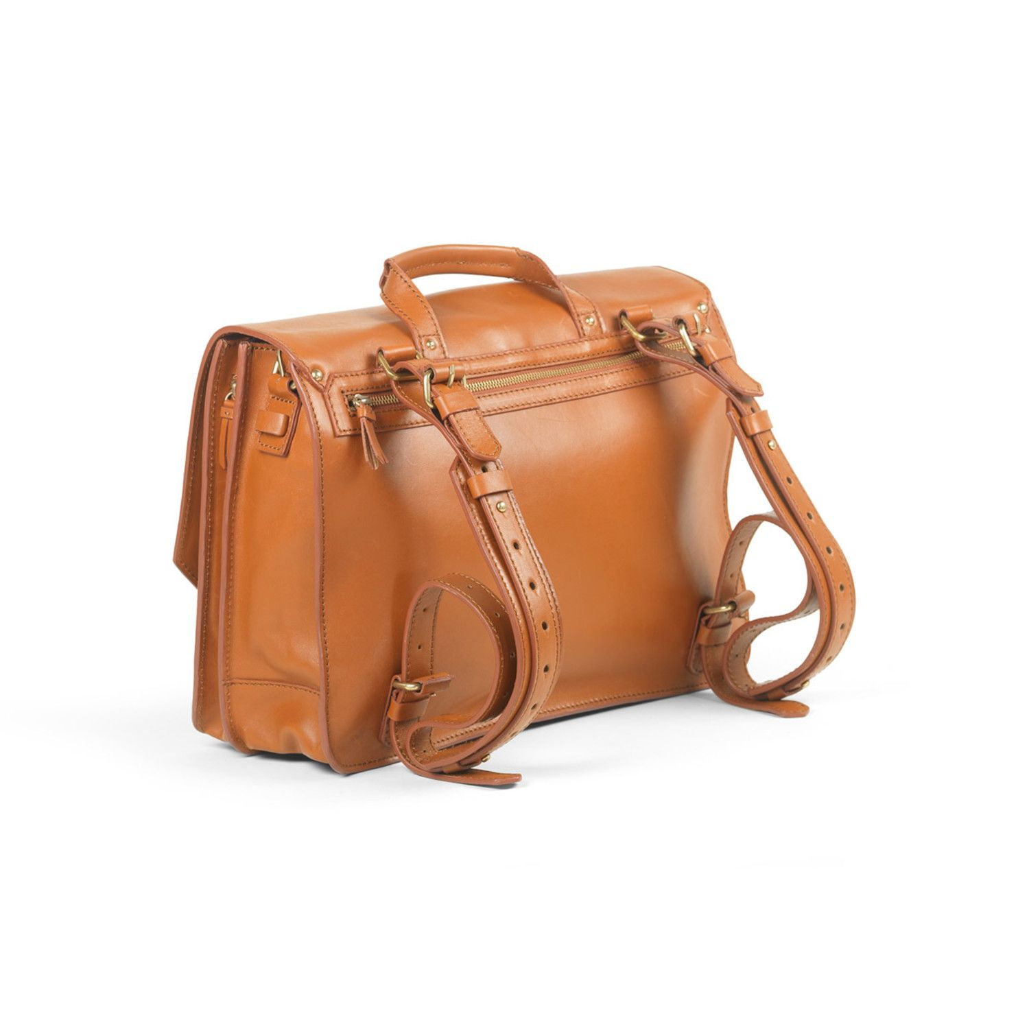b828fe304535 Tan leather bag