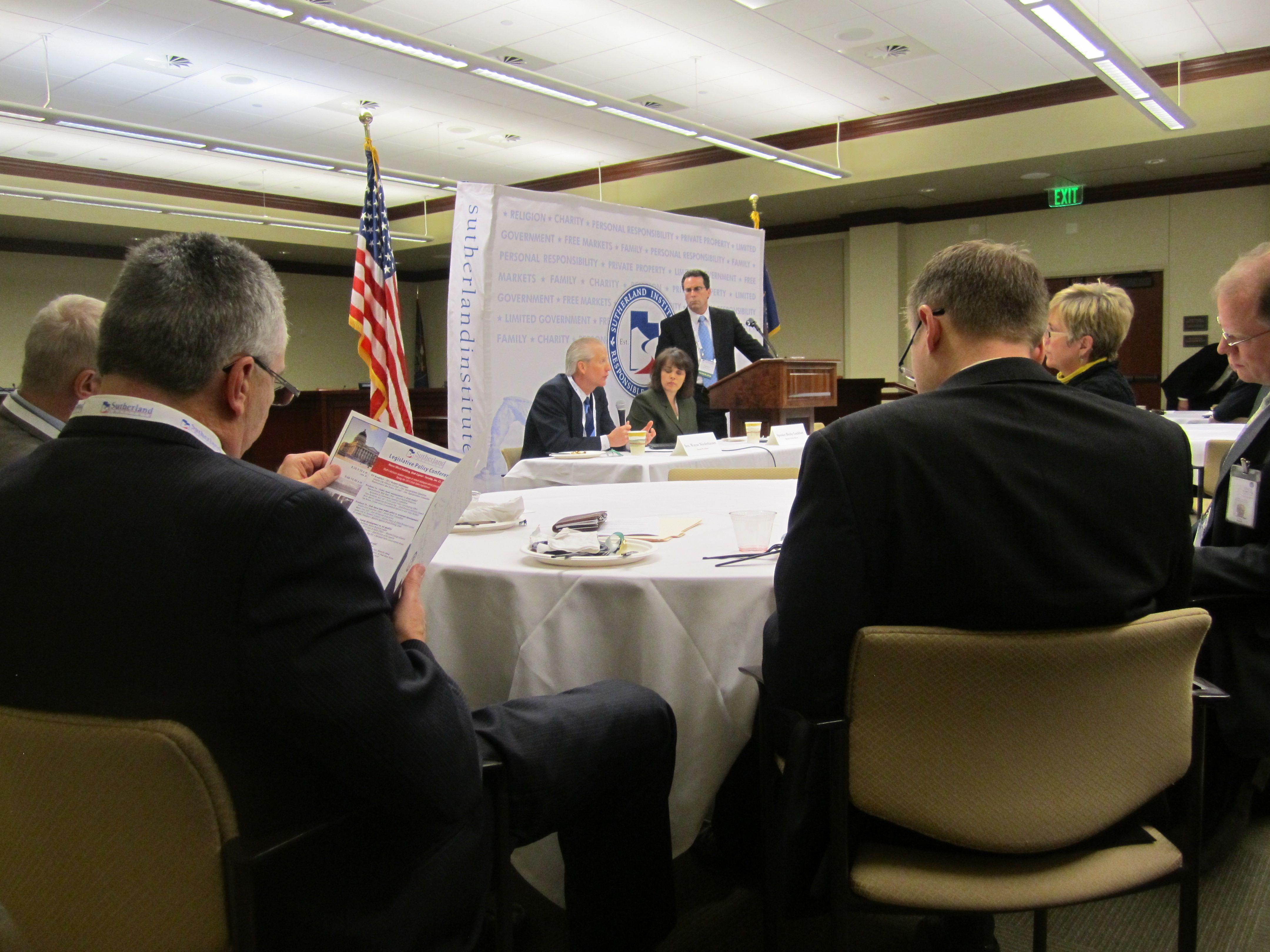 Senate President Wayne Niederhauser And Speaker Of The House Rebecca Lockhart Give A Legislative Preview By Answeri Senate This Or That Questions Legislature