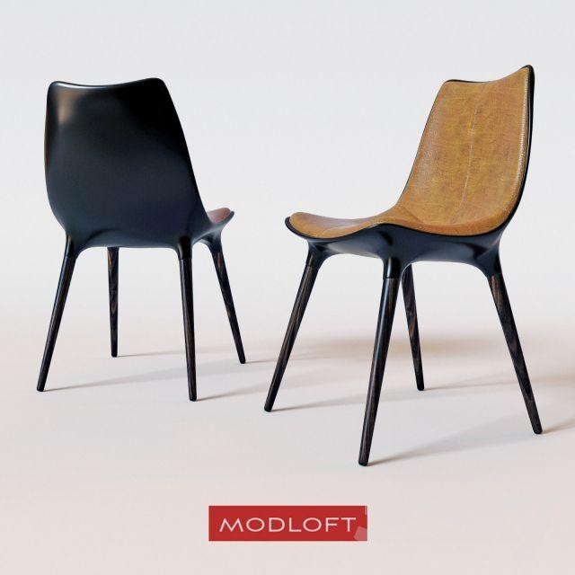 Modloft Dining Chair Wide Office Chairs Langham Decisions Kitchen Pinterest