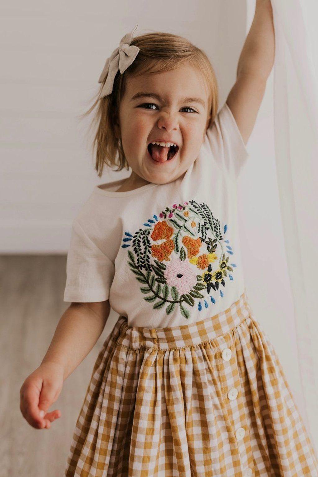 48 Cute Kids Summer Fashion Ideas Kids Summer Fashion Kids Outfits Little Girl Fashion [ 1536 x 1024 Pixel ]