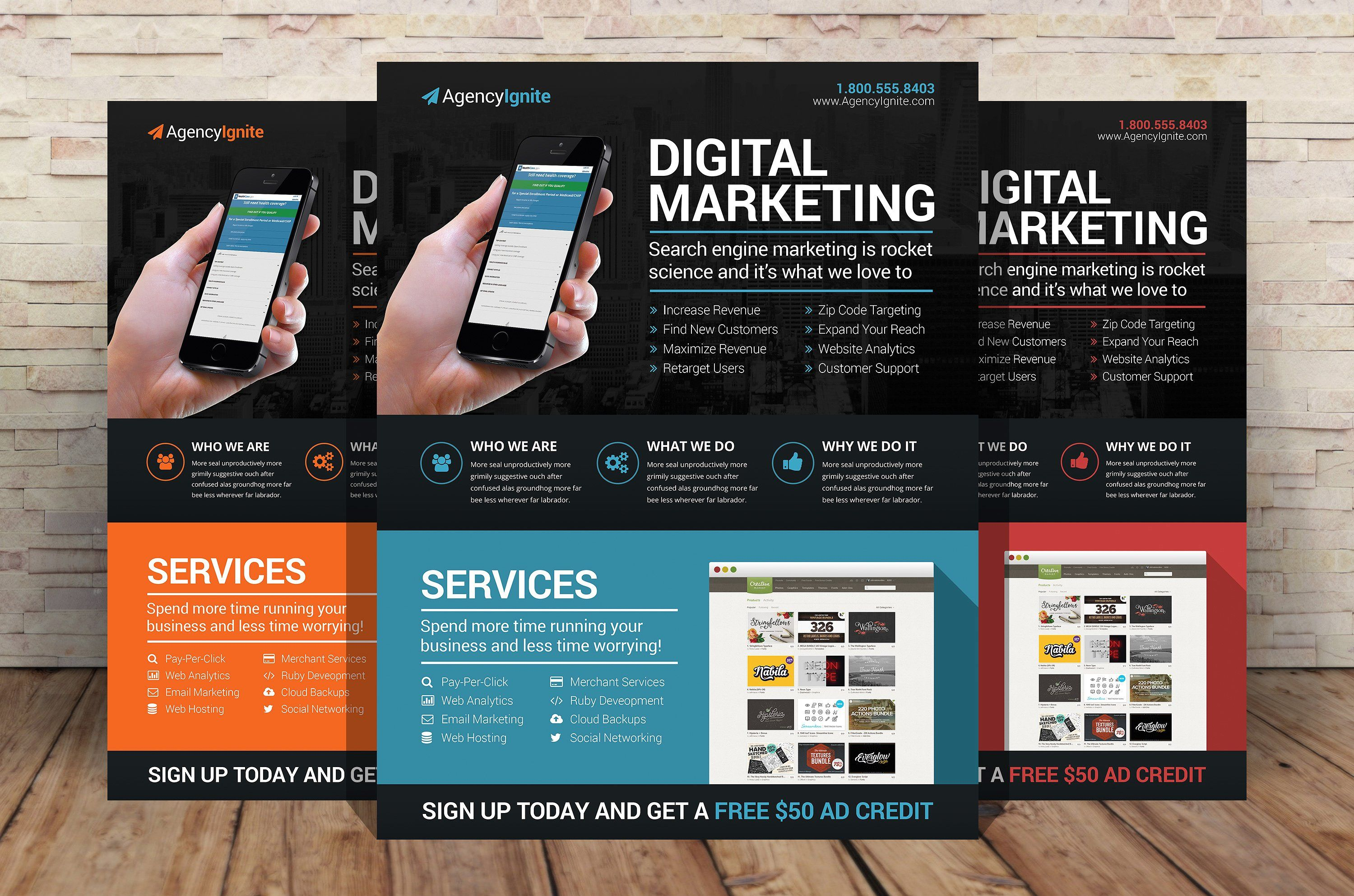 Design amazing flyer, poster and brochure within 24hrs