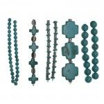 NEW! #Turquoise Beads #Blissbeads available at @J O-Ann Fabric and Craft Stores  from #HalcraftUSA