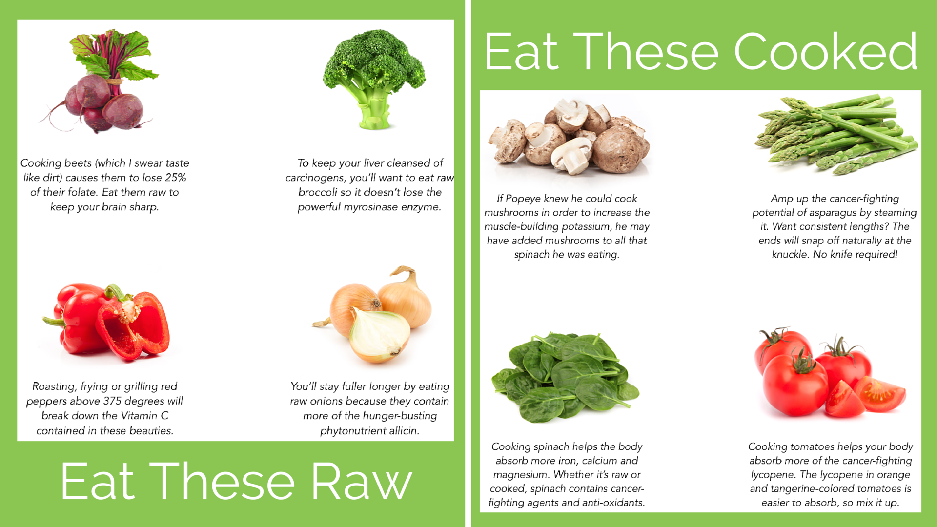 Eat These Raw