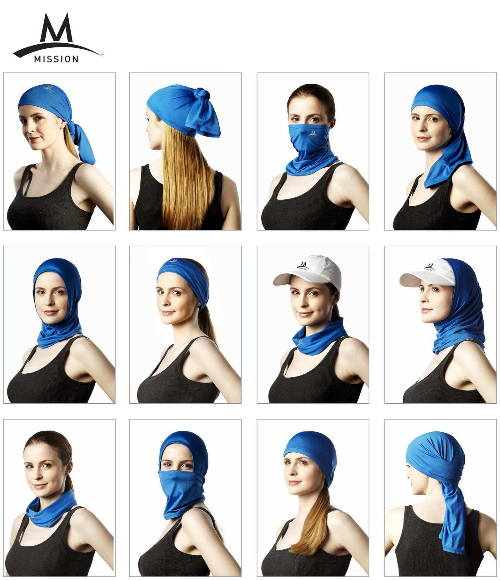 Cooling Neck Gaiter Blue Neck Gaiter Gaiters Cooling Headband