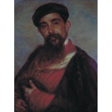Portrait Of Vittore Tasca (Ritratto Di Vittore Tasca) Canvas Art - (18 x 24)