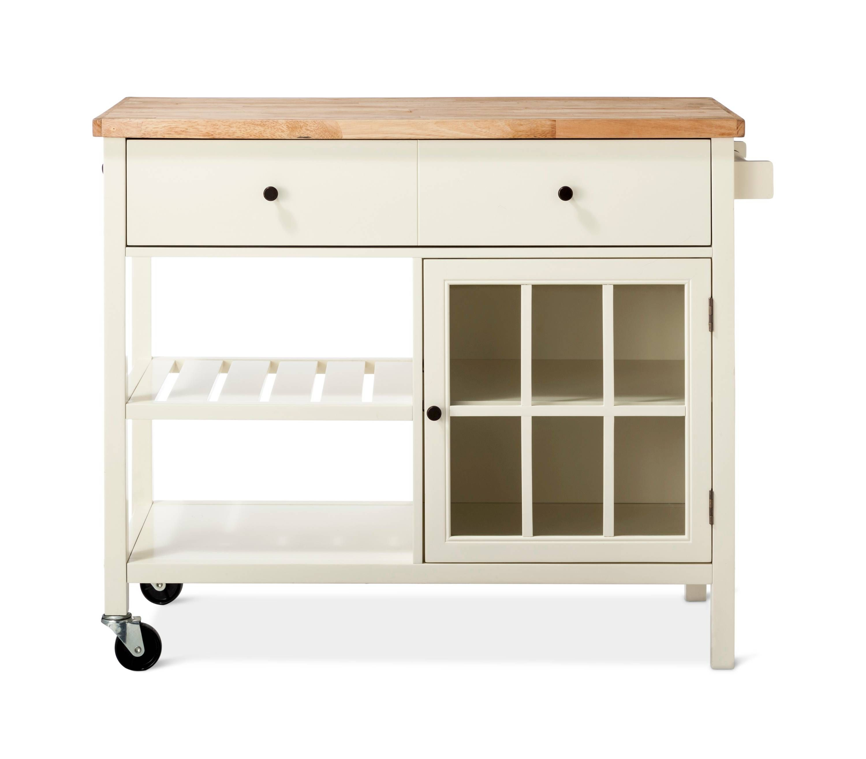 Threshold windham wood top kitchen island for a needed item to add to your kitchen or dining room