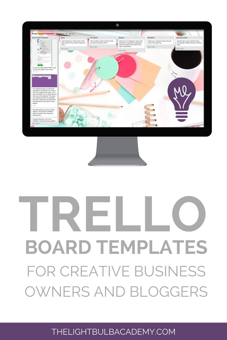 Here Are Eight Trello Board Templates To Help You Organise Your