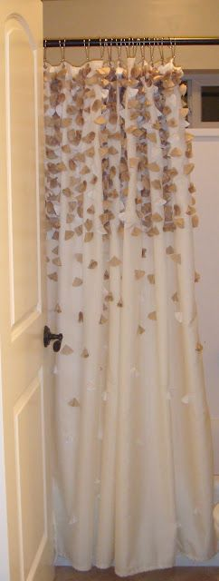 DIY Tender Falls Anthropologie Shower Curtain Pretty But I Think Can Make One For About 4