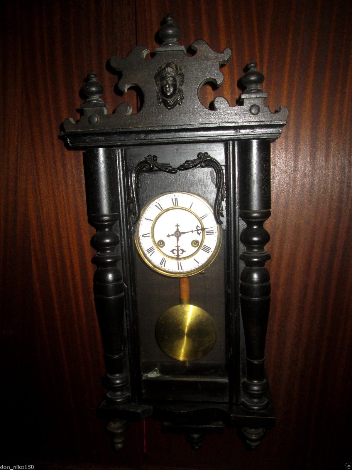 Beautiful antique wall clock junghans in collectibles clocks beautiful antique wall clock junghans in collectibles clocks antique amipublicfo Images