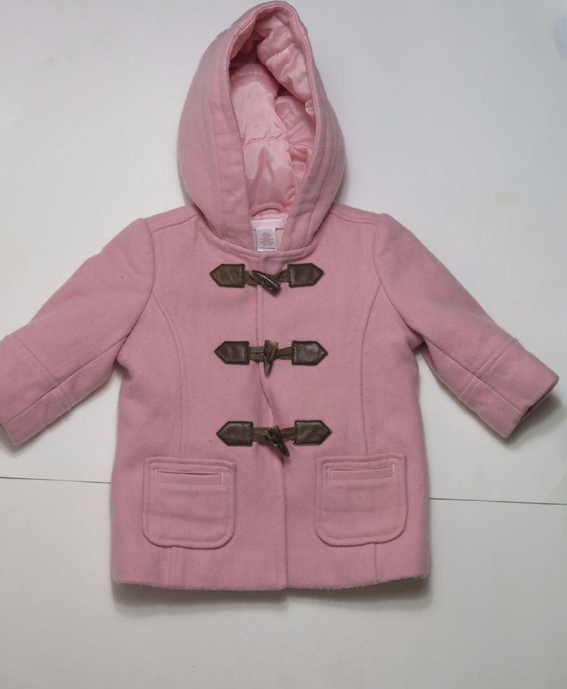 Gymboree girl hooded vest fur jacket top coat school autumn fall winter holiday