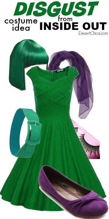 Inside Out Costume Ideas Costumes, Halloween costumes and - green dress halloween costume ideas