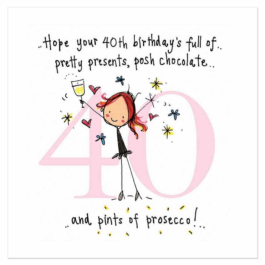 Juicy Lucy Designs Happy Birthday 40th Birthday Quotes Happy Birthday Wishes Cards Happy Birthday Images