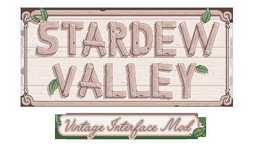 Vintage Interface Mod At Stardew Valley Nexus Mods And Community Stardew Valley Stardew Valley Tips Stardew Valley Farms