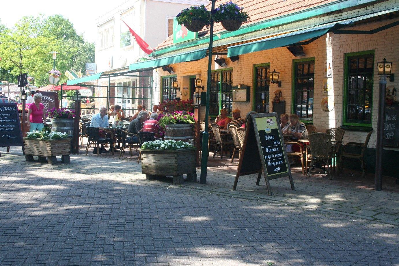 eetcafe plexat in het dorp De Lutte