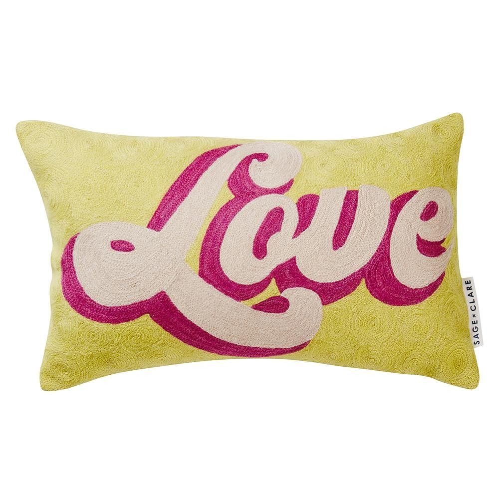 Marilyn love cushion cali and living spaces