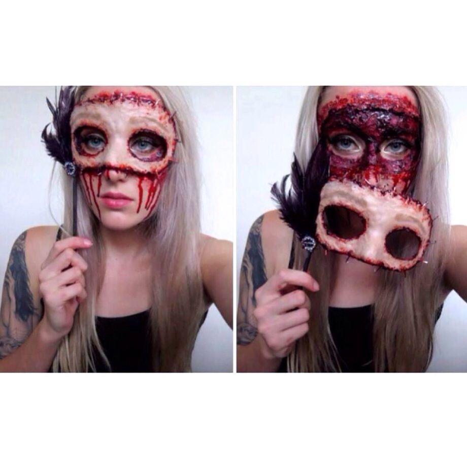 My masqerade horror mask, inspired by stjima ♥   Bonnie Corban ...