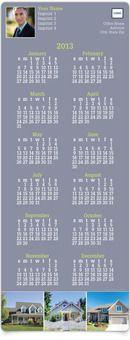 Twelve-Month Calendar MagnetCards - Professional Home Appeal