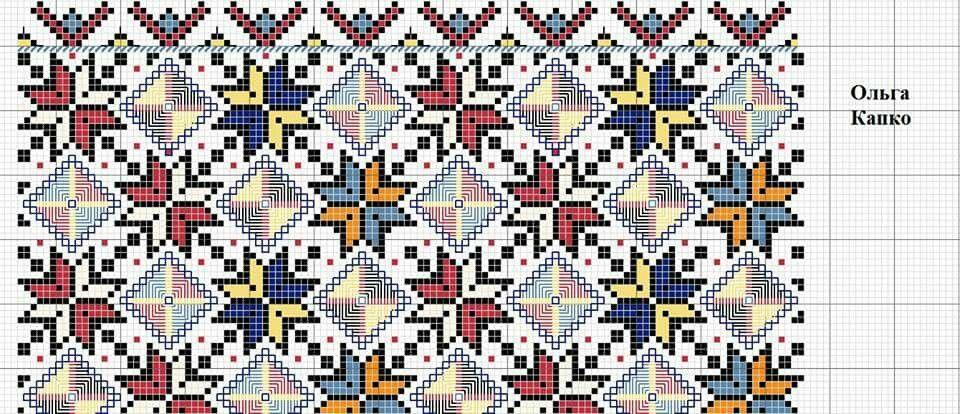Покутська сорочка схема, Ukrainian Stitching Art, ukrainian folk ...