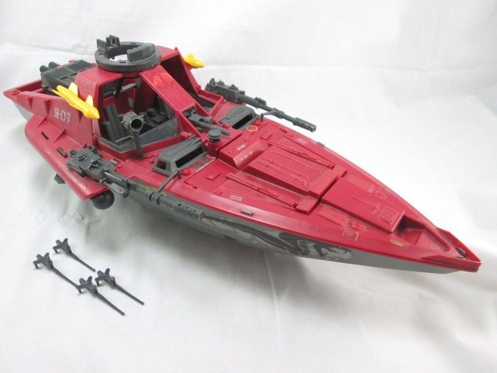 Gi joe gijoe cobra vehicle sea ray missile x1 part read just one!