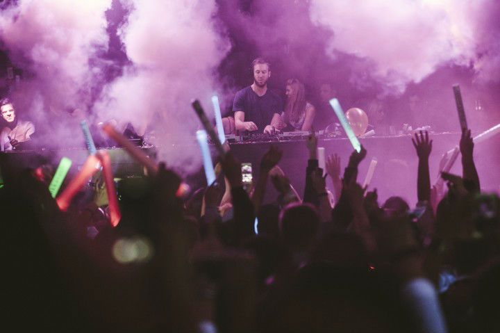 Calvin_Harris at the omnia in #Caesars Palace #NewYearsEve Parties