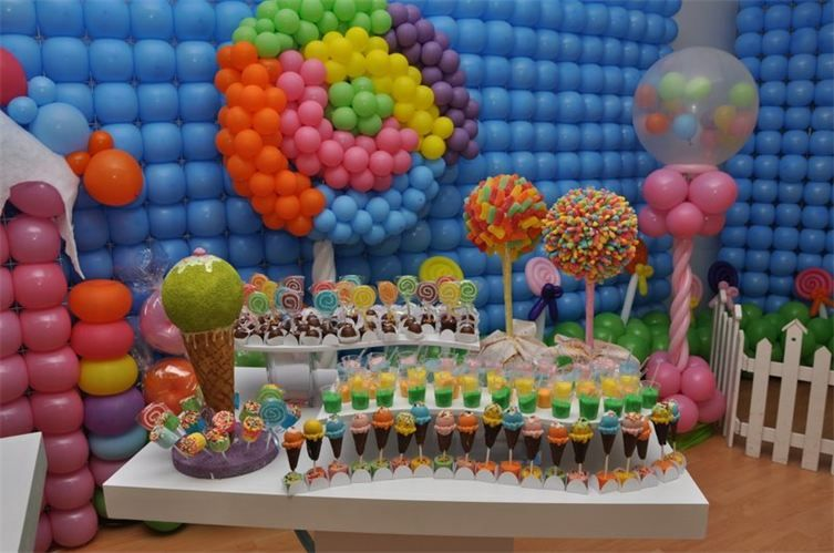 Enchanted balloon party and event decors candyland kid