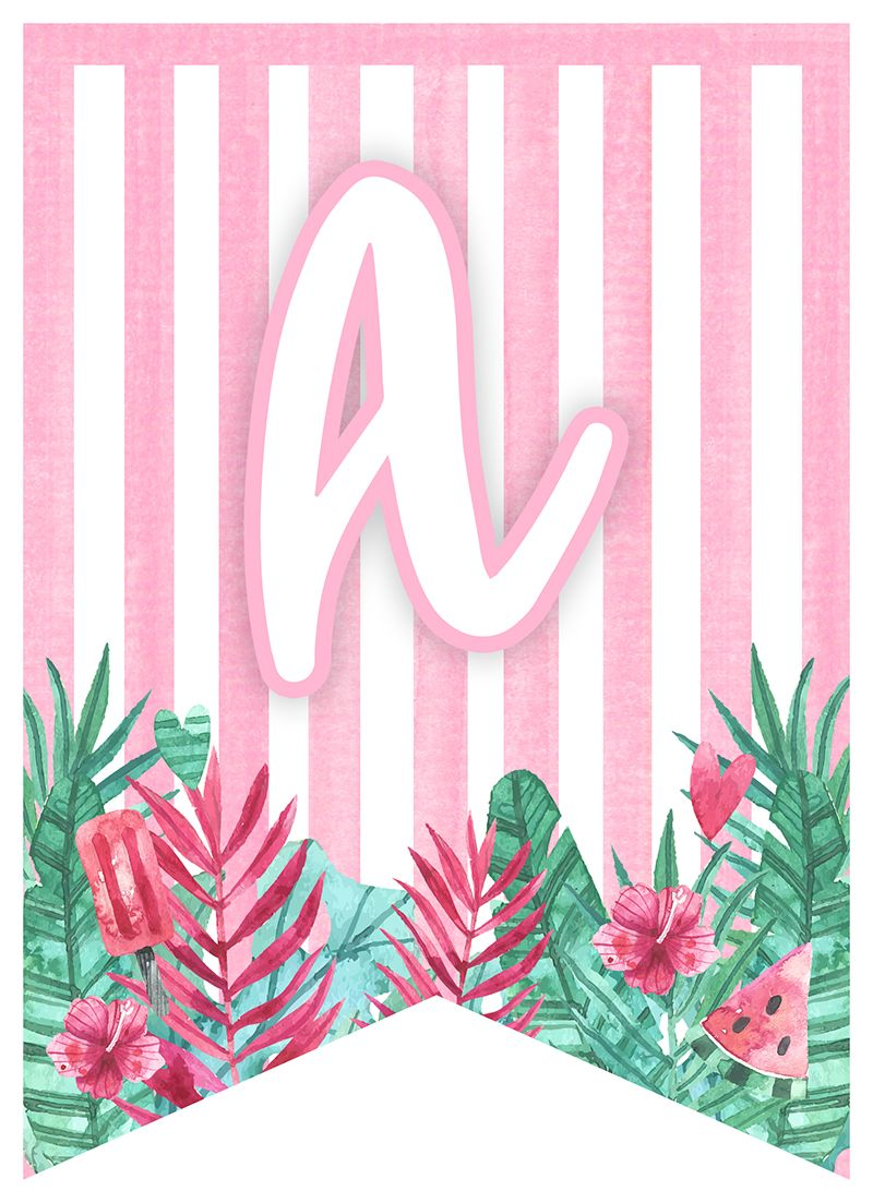 Free Printable Flamingo Party Pack The Cottage Market Birthday Banner Free Printable Flamingo Birthday Party Flamingo Party