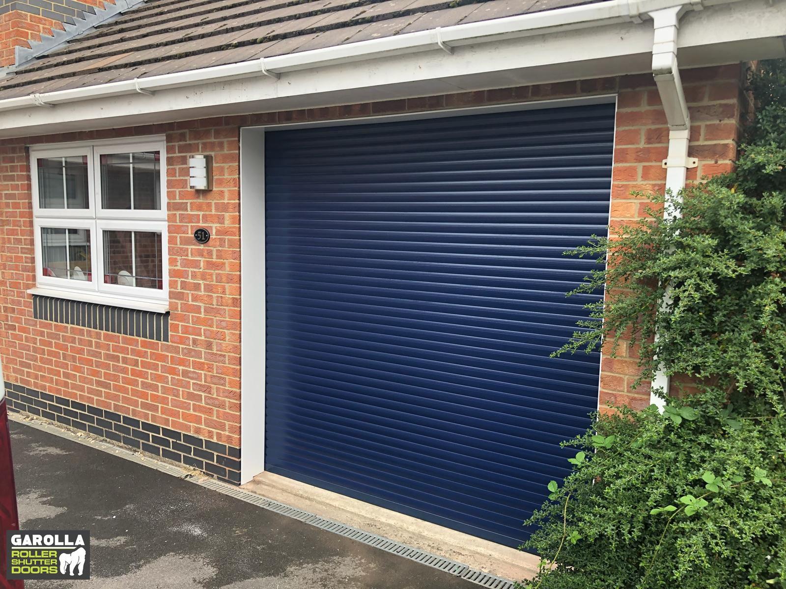 Blue Roller Shutter Door Garage Door Styles Garage Door Design Garage Doors For Sale