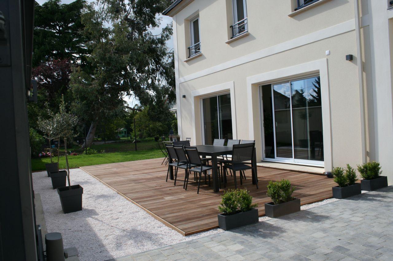 Terrasse et salon de jardin - Les Michalons avec une touche ...