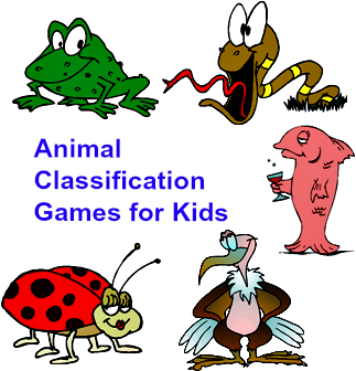 Animal classification games for kids. Online Science Games for ...