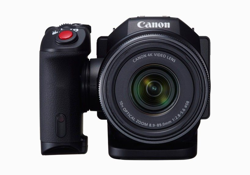 compact canon XC10 camcorder shoots 4K videos and 12 megapixel images