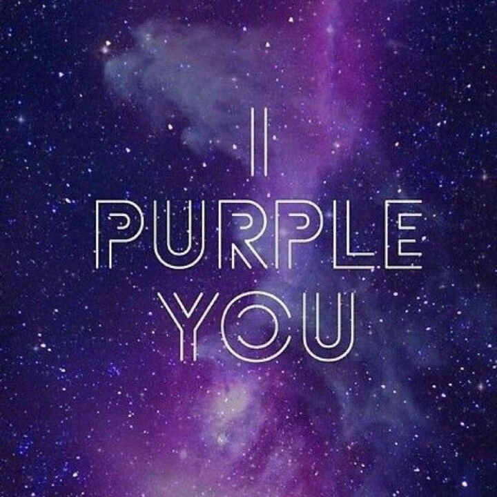 I Purple You Latar Belakang Gambar Lucu Ungu