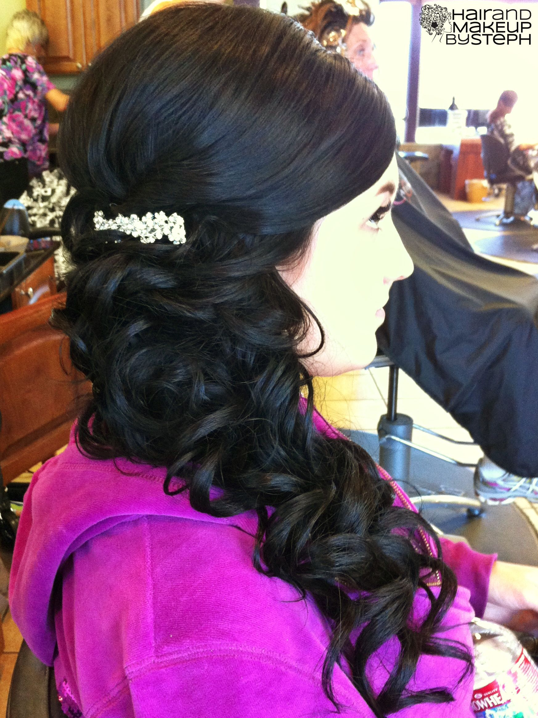Hair and makeup by steph weddings hair style and prom