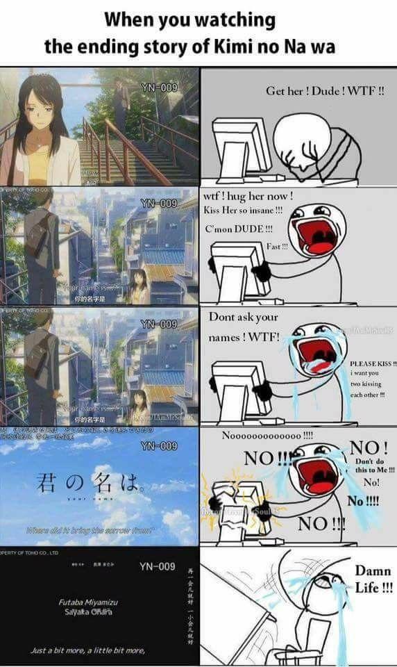 Pin By Steyfaniasiska N On Miyazaki Ghibli Your Name Anime Anime Memes Funny Kimi No Na Wa