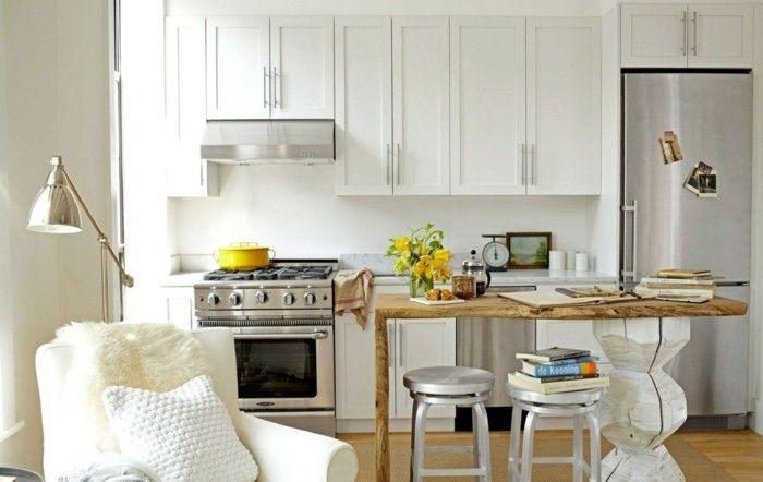 kuechenzeile wohnkueche kuechengestaltung kuechenart | Küche Möbel ...