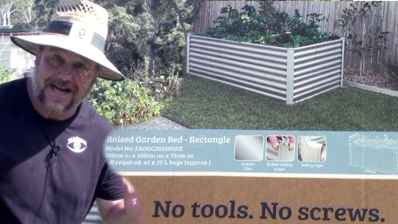 Organic Garden Co Raised Bed Kit Review Sold At Bunnings