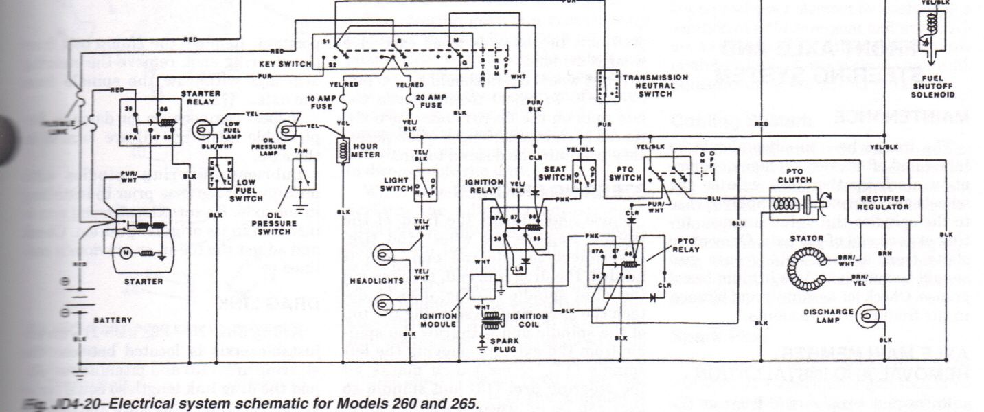 John Deere Model 265 Schematic Expert Curtis B Replied 3 Years Wiring Diagram Ago