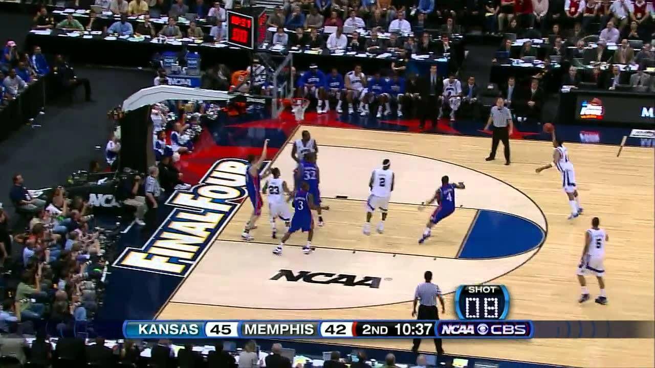 Kansas vs. Memphis 2008