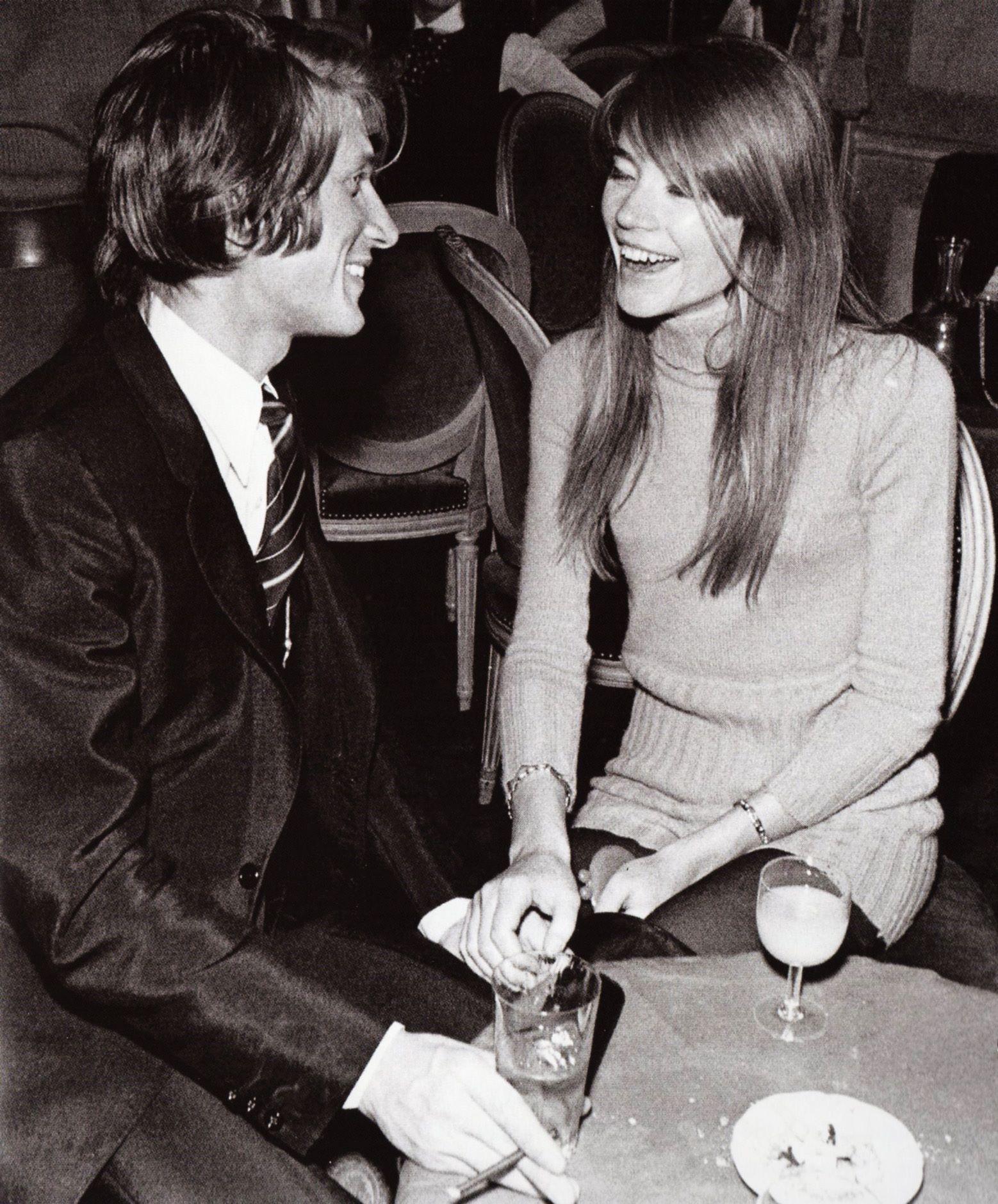 Jacques Dutronc and Françoise Hardy. | Dutronc, Jacques