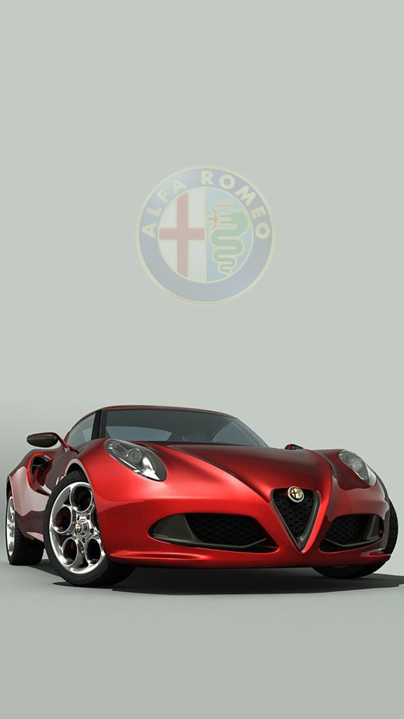 Alfa Romeo 4c Wallpaper Iphone With Images Alfa Romeo 4c Alfa