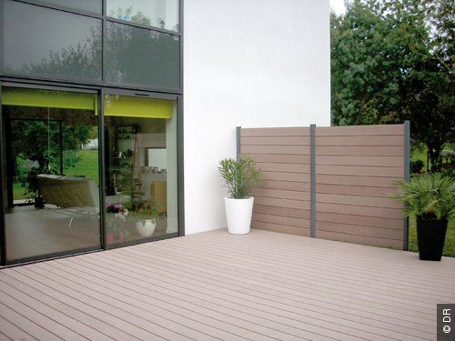 image silvadec bois composite coordonn cl ture lame. Black Bedroom Furniture Sets. Home Design Ideas
